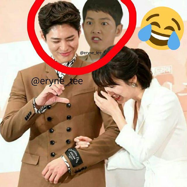 Cười mệt với loạt ảnh chế của fan Song Song Couple sau khi xem tập 1 bom tấn Hàn Encounter - Ảnh 4.