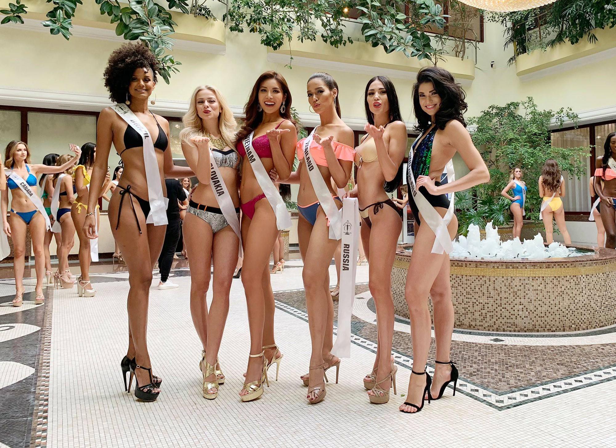 Minh Tú thẳng thắn đáp trả khi bị tố can thiệp photoshop để dìm hàng đối thủ tại Miss Supranational 2018 - Ảnh 4.