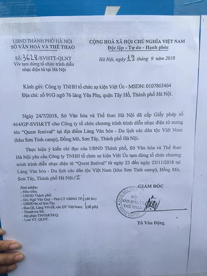 Lễ hội âm nhạc Quest Festival ở Hà Nội bị hủy vào giờ chót: Hàng nghìn khán giả vẫn đang mòn mỏi chờ được hoàn tiền - Ảnh 5.