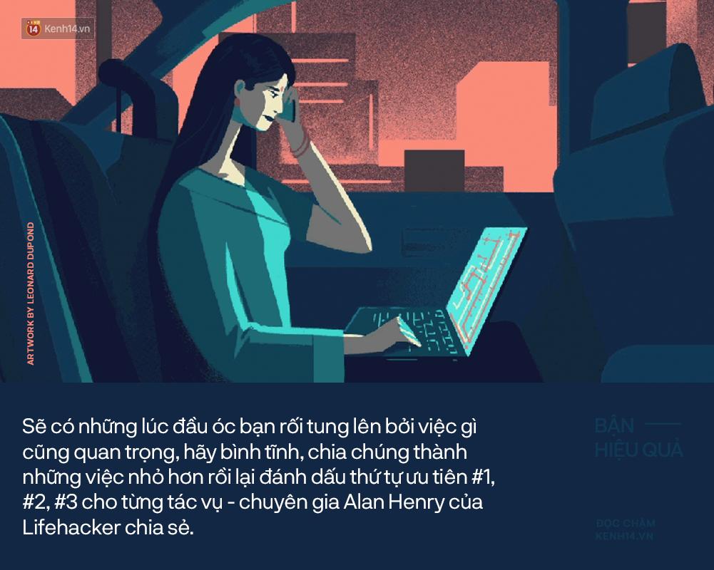 Phân biệt giữa bận và hiệu quả: Lời đáp cho câu hỏi: Sao cả ngày chẳng được tích sự gì? - Ảnh 2.