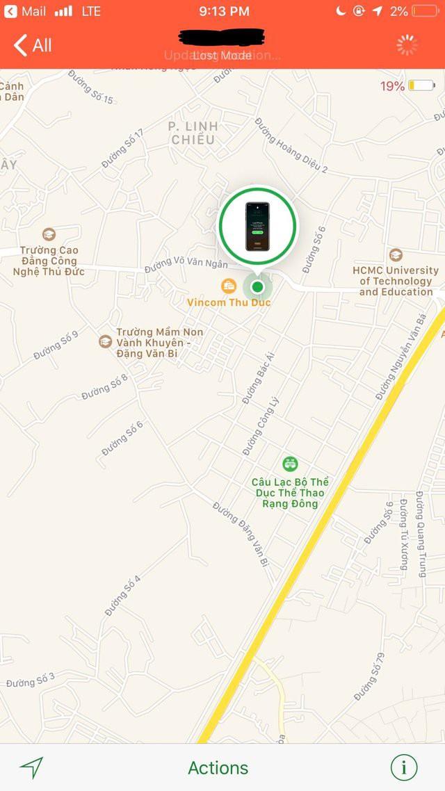 Tháng trước bị trộm iPhone X ở Mỹ, nay dò tín hiệu thấy dế yêu đang lưu lạc ở Sài Gòn? - Ảnh 1.