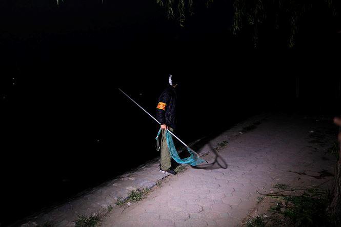 Tờ mờ sáng, theo chân đội bắt chó thả rông ở Hà Nội - Ảnh 5.