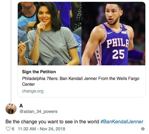 Gần 10.000 người đòi cấm Kendall Jenner đến xem bóng rổ và lý do thì vô cùng trời ơi đất hỡi! - Ảnh 1.
