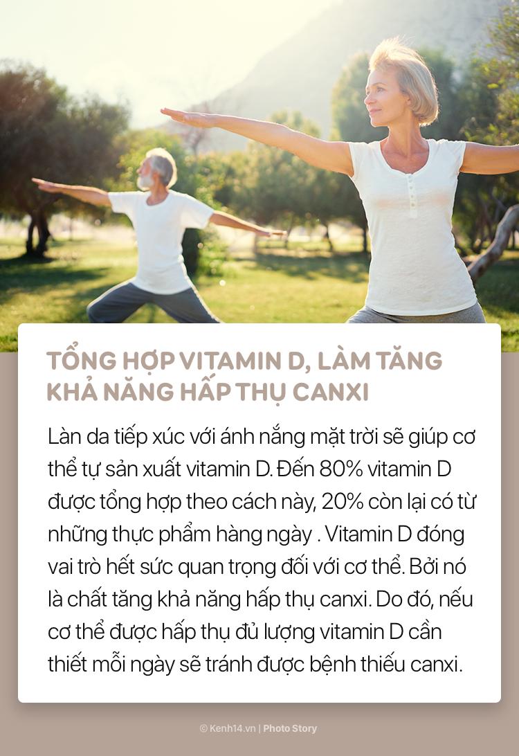 Những lợi ích tuyệt vời của ánh nắng buổi sáng với sức khoẻ - Ảnh 11.