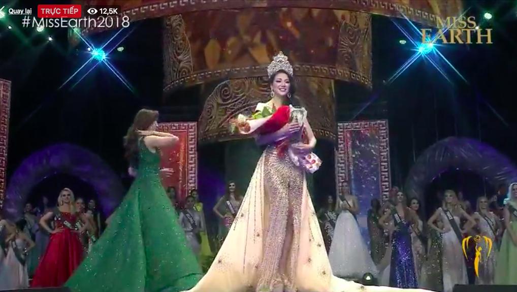 Đại diện Việt Nam - Nguyễn Phương Khánh đăng quang Hoa hậu Trái đất 2018 - Ảnh 6.