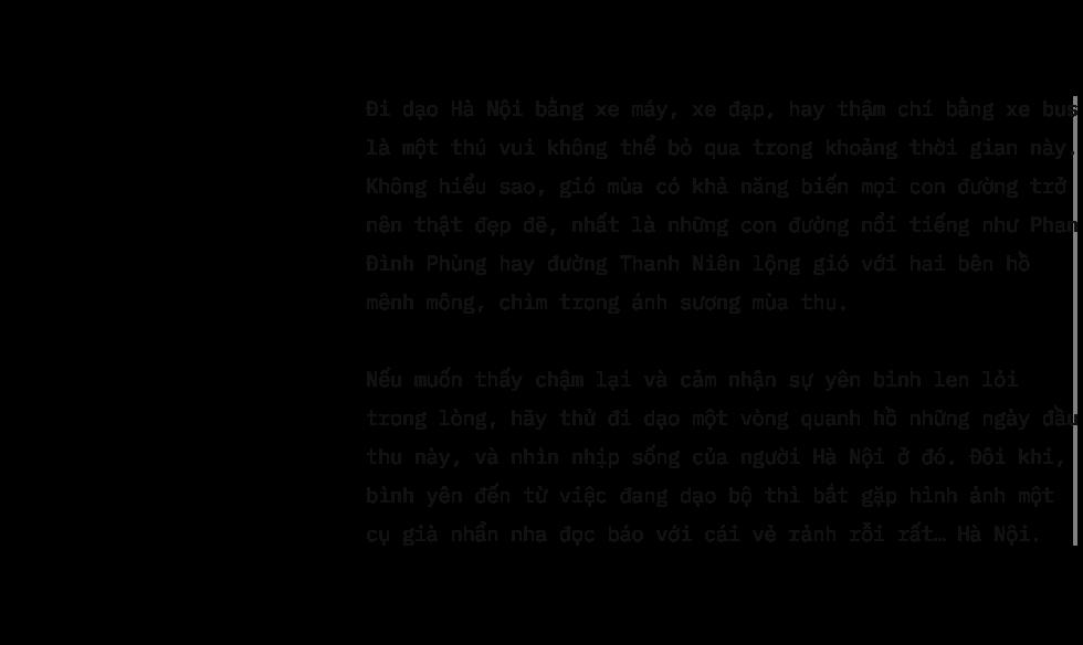 Hà Nội và nỗi nhung nhớ lớn nhất của người xa xứ: Những ngày giao mùa ngắn ngủi trong năm - Ảnh 7.