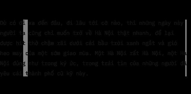 Hà Nội và nỗi nhung nhớ lớn nhất của người xa xứ: Những ngày giao mùa ngắn ngủi trong năm - Ảnh 11.