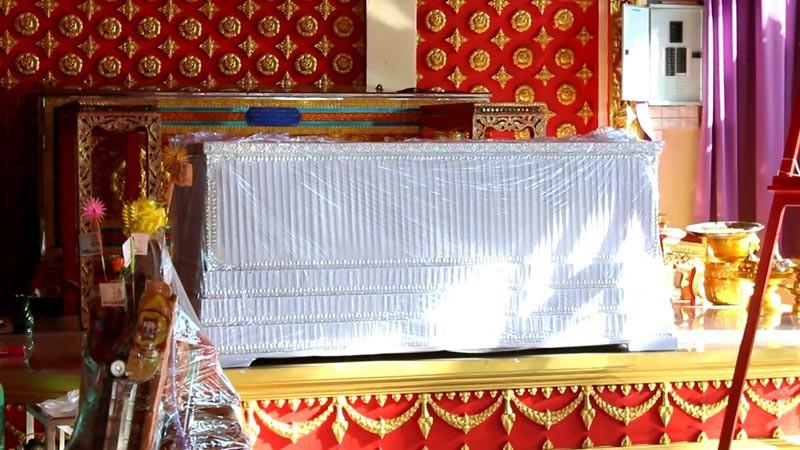 Lễ cầu nguyện cho cựu Á hậu Thái tử nạn cùng chủ tịch Leicester: Bố đẻ của cô tiết lộ chi tiết rùng mình - Ảnh 7.