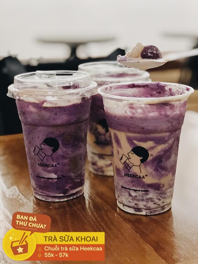 Sài Gòn có những thứ đồ uống từ sữa phủ topping chất chồng chất đống trên mặt cốc khiến ai cũng phải thích thú - Ảnh 2.