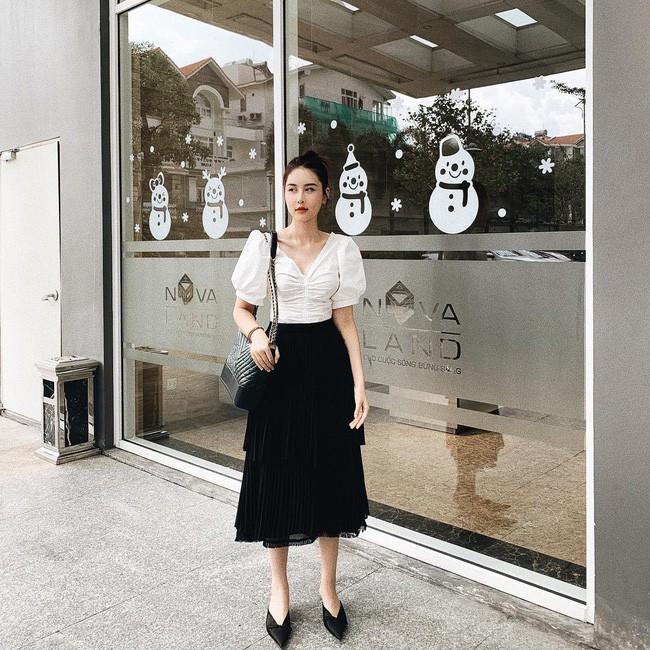 Street style sao: Diệp Lâm Anh vừa sinh xong đã diện ngay đồ khoe dáng, Hương Giang mặc kín đáo vẫn lộ dáng gầy - Ảnh 16.