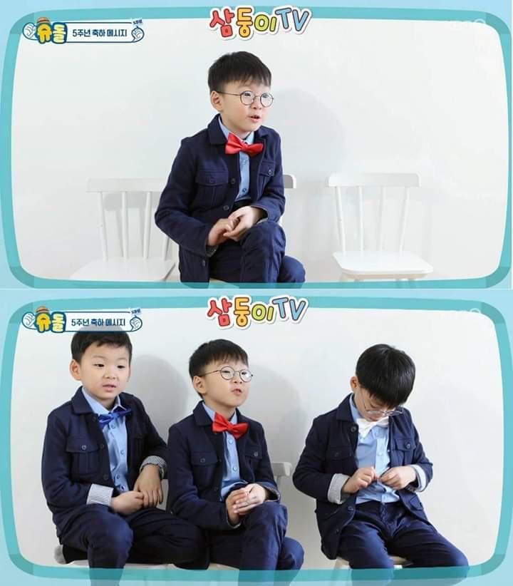 Bộ ba thiên thần nhà Song Il Gook cao lớn phổng phao, tái xuất trên show thực tế - Ảnh 1.