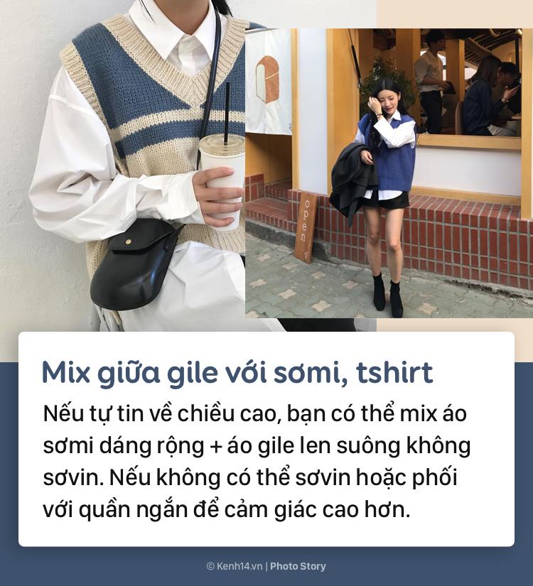 Tips để mặc áo gile bà già trẻ trung, thời thượng mùa thu đông năm nay - Ảnh 3.