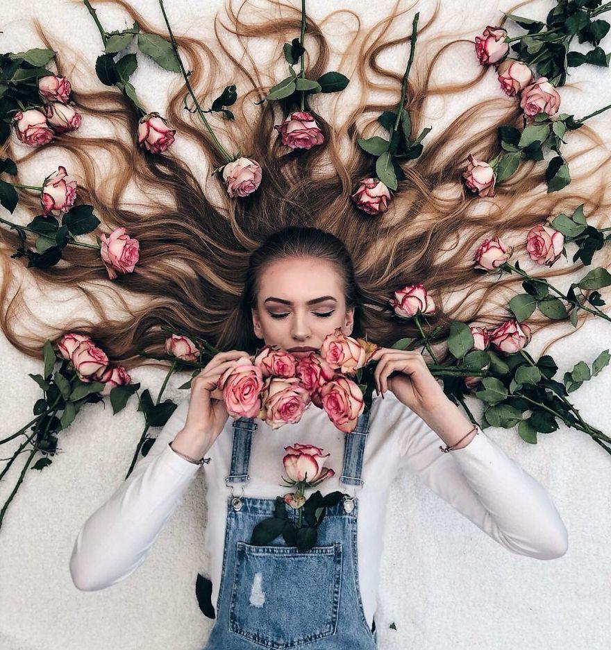 Đăng ảnh toàn tóc là tóc, Công chúa tóc mây người Hà Lan vẫn nổi tiếng ầm ầm trên Instagram - Ảnh 16.