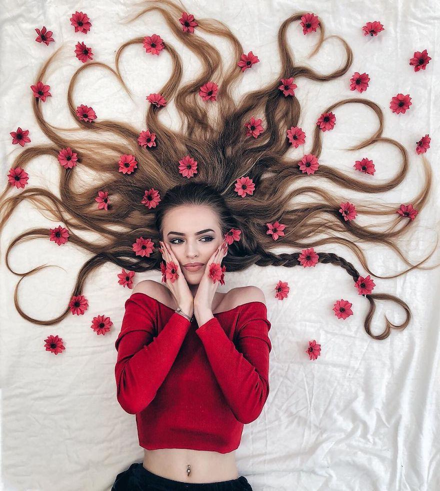Đăng ảnh toàn tóc là tóc, Công chúa tóc mây người Hà Lan vẫn nổi tiếng ầm ầm trên Instagram - Ảnh 15.