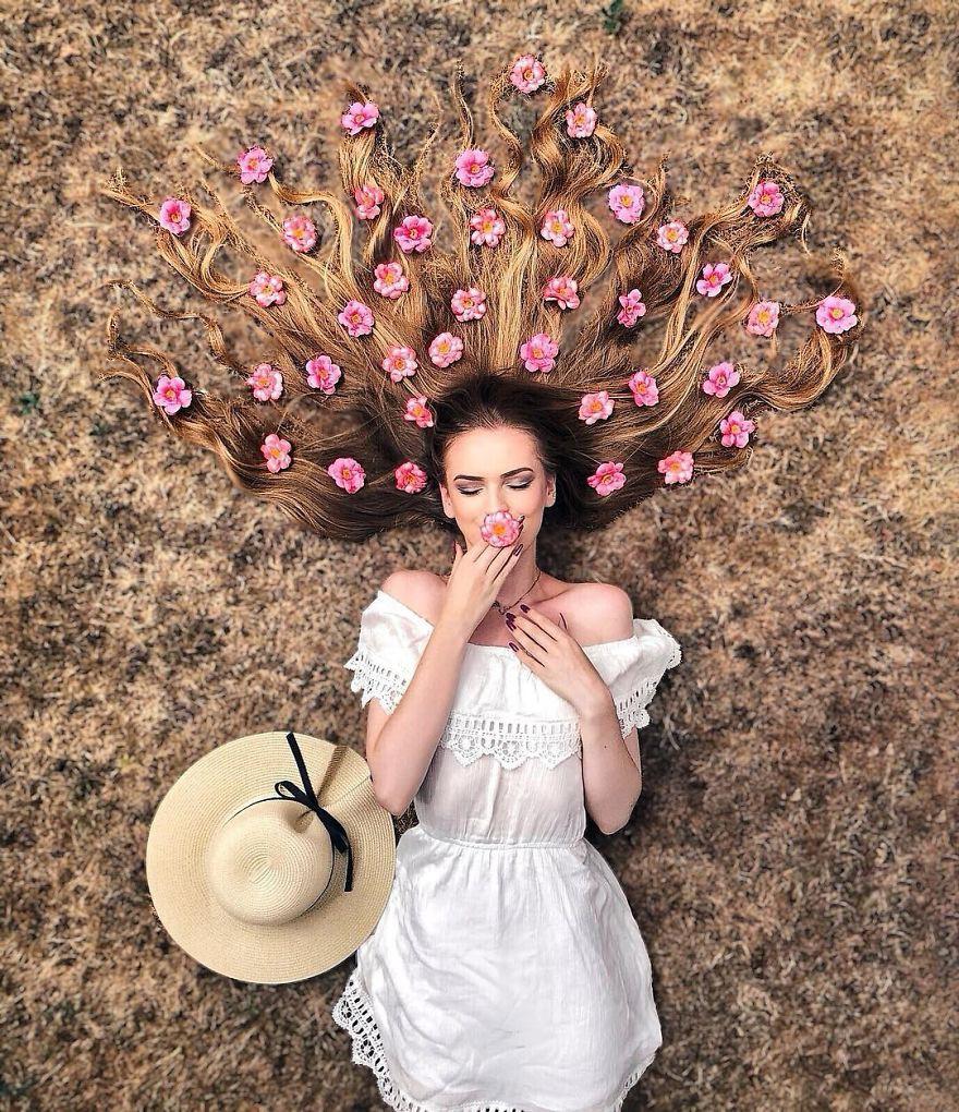 Đăng ảnh toàn tóc là tóc, Công chúa tóc mây người Hà Lan vẫn nổi tiếng ầm ầm trên Instagram - Ảnh 11.