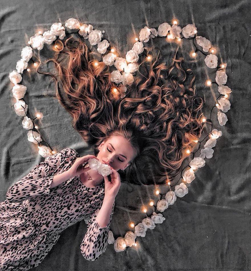 Đăng ảnh toàn tóc là tóc, Công chúa tóc mây người Hà Lan vẫn nổi tiếng ầm ầm trên Instagram - Ảnh 12.