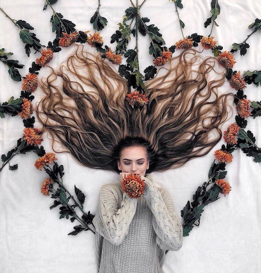 Đăng ảnh toàn tóc là tóc, Công chúa tóc mây người Hà Lan vẫn nổi tiếng ầm ầm trên Instagram - Ảnh 14.