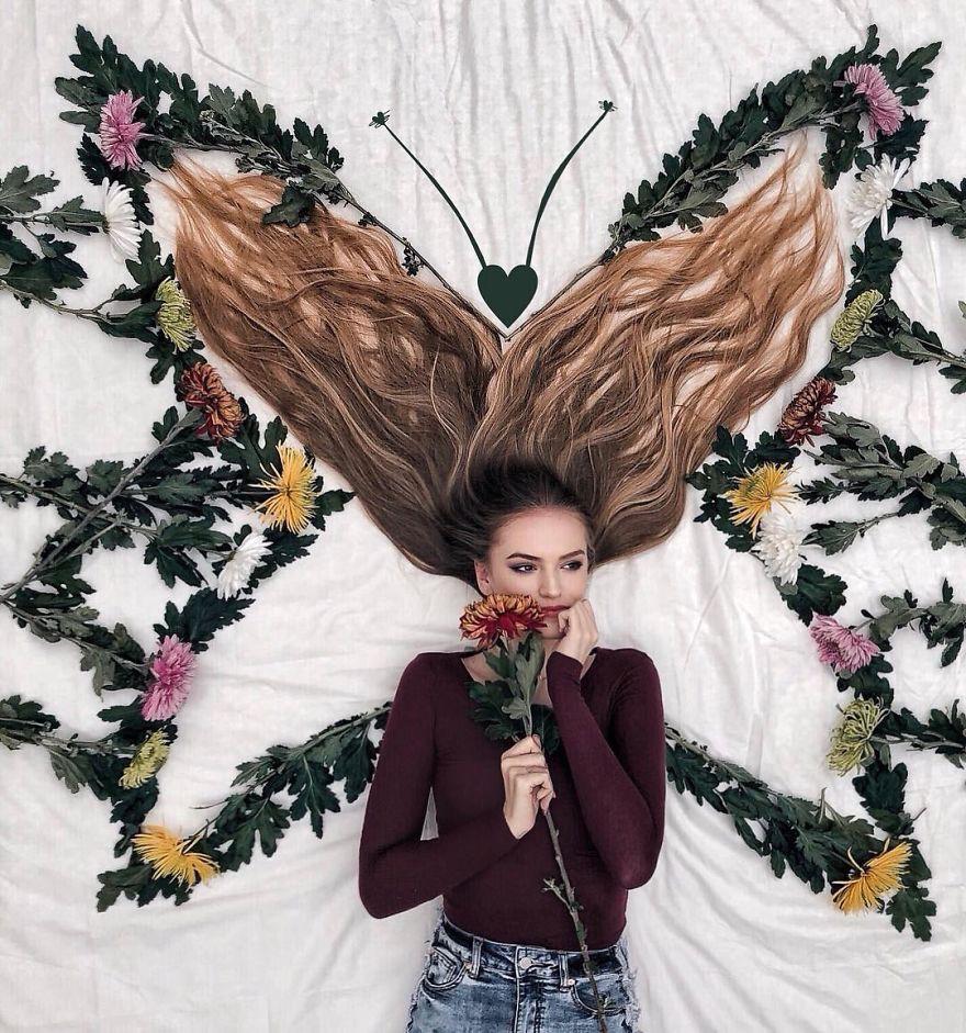 Đăng ảnh toàn tóc là tóc, Công chúa tóc mây người Hà Lan vẫn nổi tiếng ầm ầm trên Instagram - Ảnh 10.