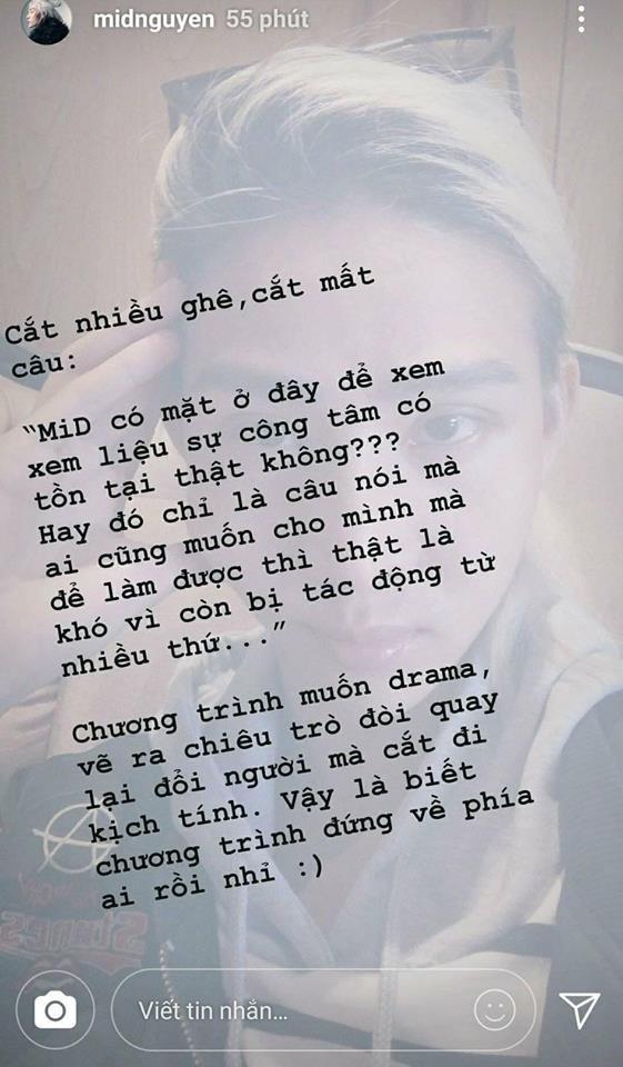 The Face tung đoạn clip đầy đủ phần loại Mid Nguyễn, khẳng định không làm sai lệch nội dung - Ảnh 6.
