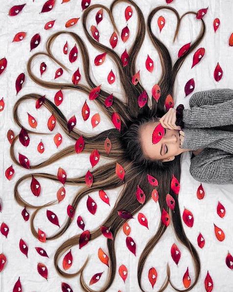 Đăng ảnh toàn tóc là tóc, Công chúa tóc mây người Hà Lan vẫn nổi tiếng ầm ầm trên Instagram - Ảnh 4.