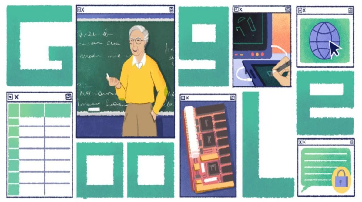 Google Doodle hôm nay: mừng sinh nhật người tiên phong cho cách mạng công nghệ 4.0 - Ảnh 1.