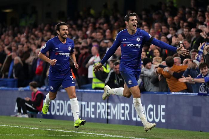 Điệu đà không cần thiết, Morata bỏ lỡ cơ hội mười mươi để lập hat-trick cho Chelsea - Ảnh 1.