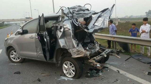 Tranh cãi về bản án vụ xe container tông Innova đi lùi trên cao tốc - Ảnh 6.