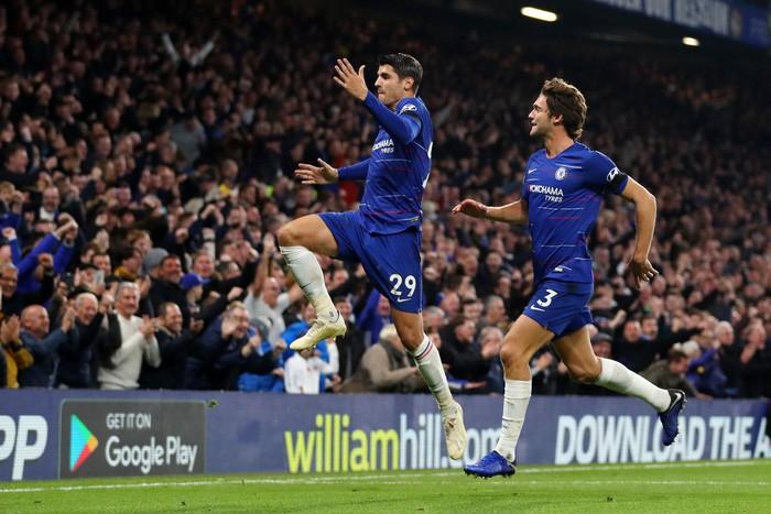 Điệu đà không cần thiết, Morata bỏ lỡ cơ hội mười mươi để lập hat-trick cho Chelsea - Ảnh 4.