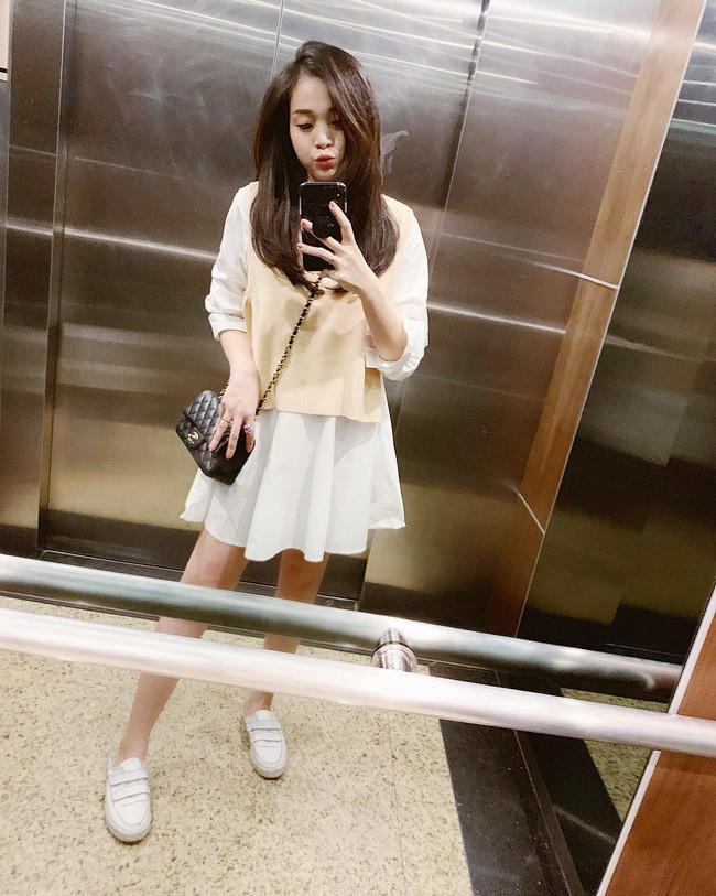 Thời trang bà bầu: Street style của các hot mom xinh đẹp trẻ trung - Ảnh 7.