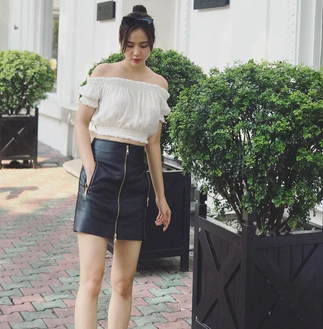 Thời trang bà bầu: Street style của các hot mom xinh đẹp trẻ trung - Ảnh 8.