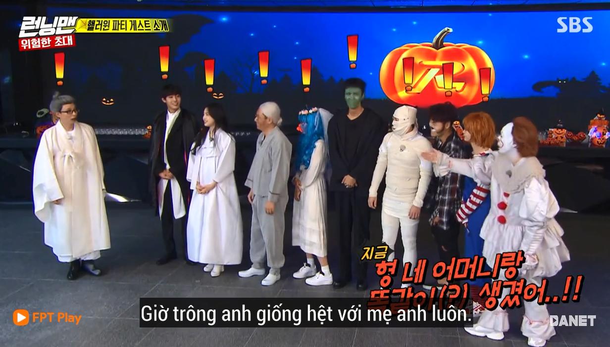Nhọ như Running Man: Mất 2 tiếng hóa trang Halloween chỉ để quay mở màn còn bị chê lố - Ảnh 7.
