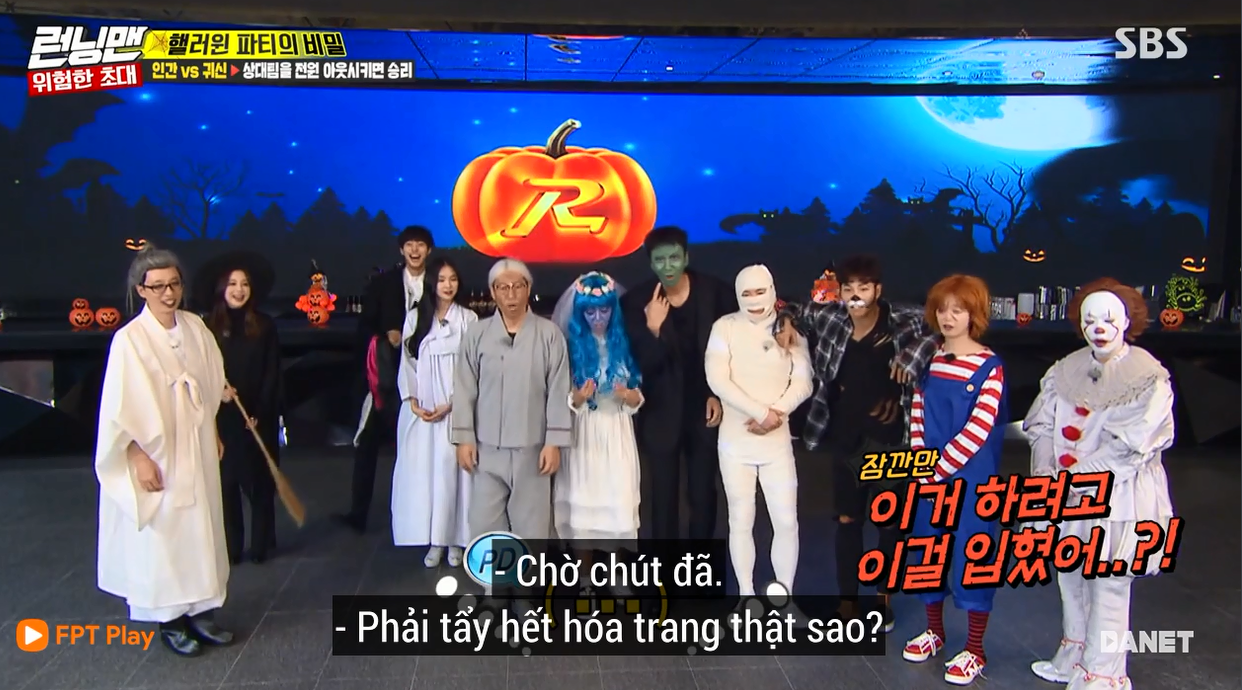 Nhọ như Running Man: Mất 2 tiếng hóa trang Halloween chỉ để quay mở màn còn bị chê lố - Ảnh 11.