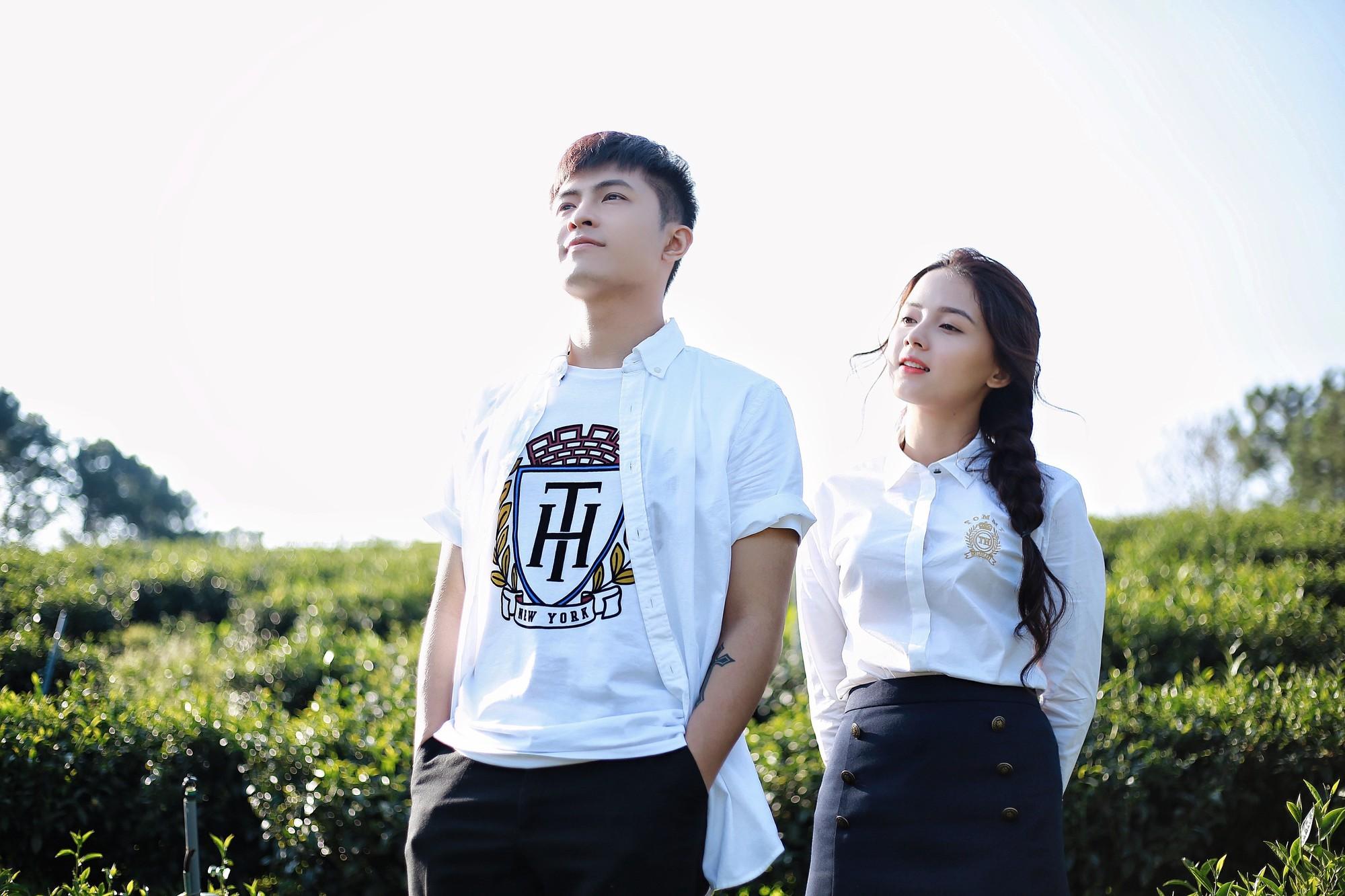 Gin Tuấn Kiệt hợp tác cùng hotgirl ảnh thẻ Lan Hương tung MV đầy nước mắt về tuổi thanh xuân - Ảnh 2.