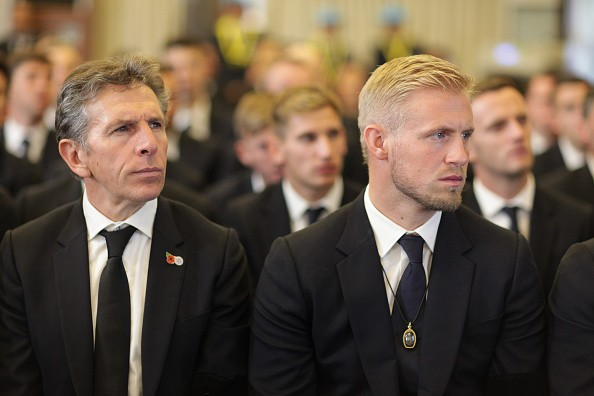 Ban lãnh đạo và cầu thủ Leicester sang Thái Lan viếng cố Chủ tịch Vichai - Ảnh 8.