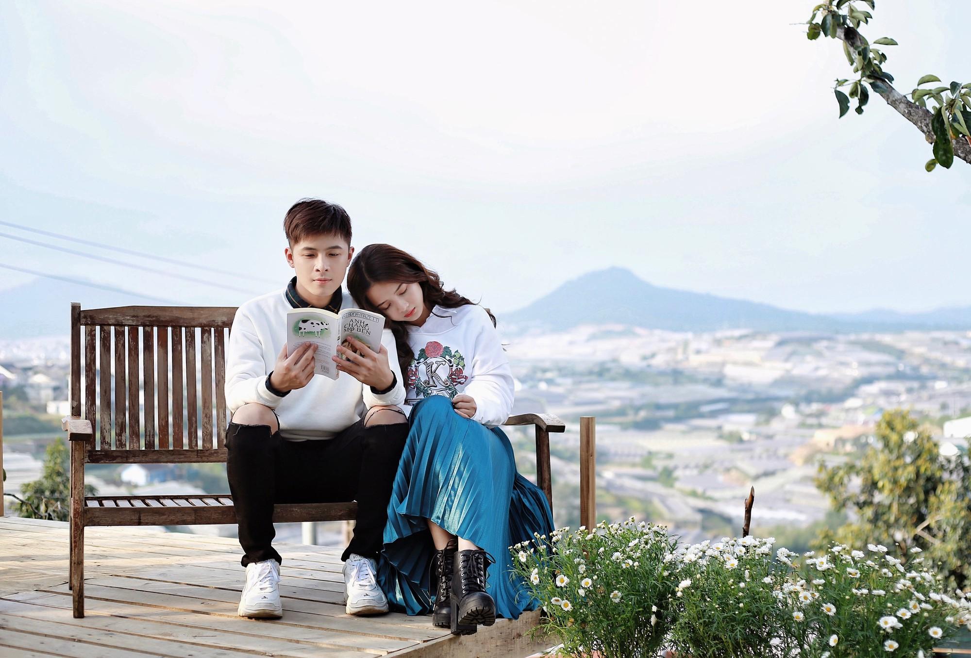 Gin Tuấn Kiệt hợp tác cùng hotgirl ảnh thẻ Lan Hương tung MV đầy nước mắt về tuổi thanh xuân - Ảnh 4.