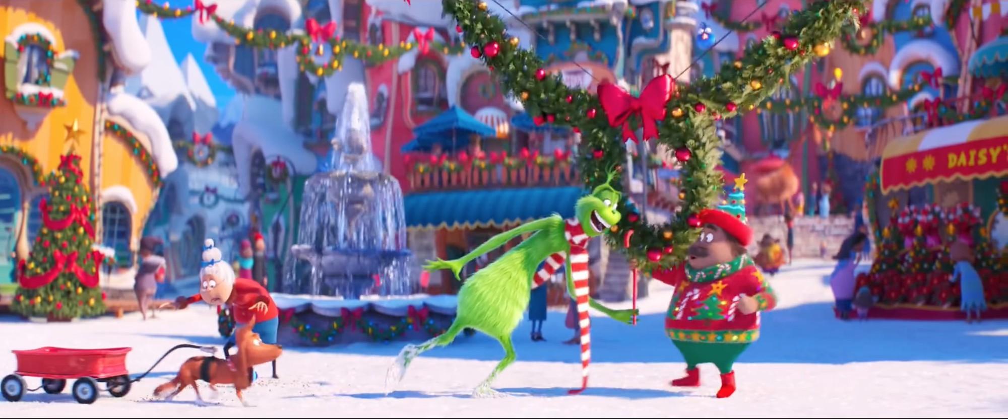 Phim Giáng Sinh dành cho những kẻ hận cả thế giới là đây: The Grinch - Gã xanh lè cáu kỉnh - Ảnh 5.