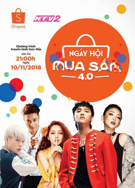 Shopee's live Singles Day TV Show in Vietnam