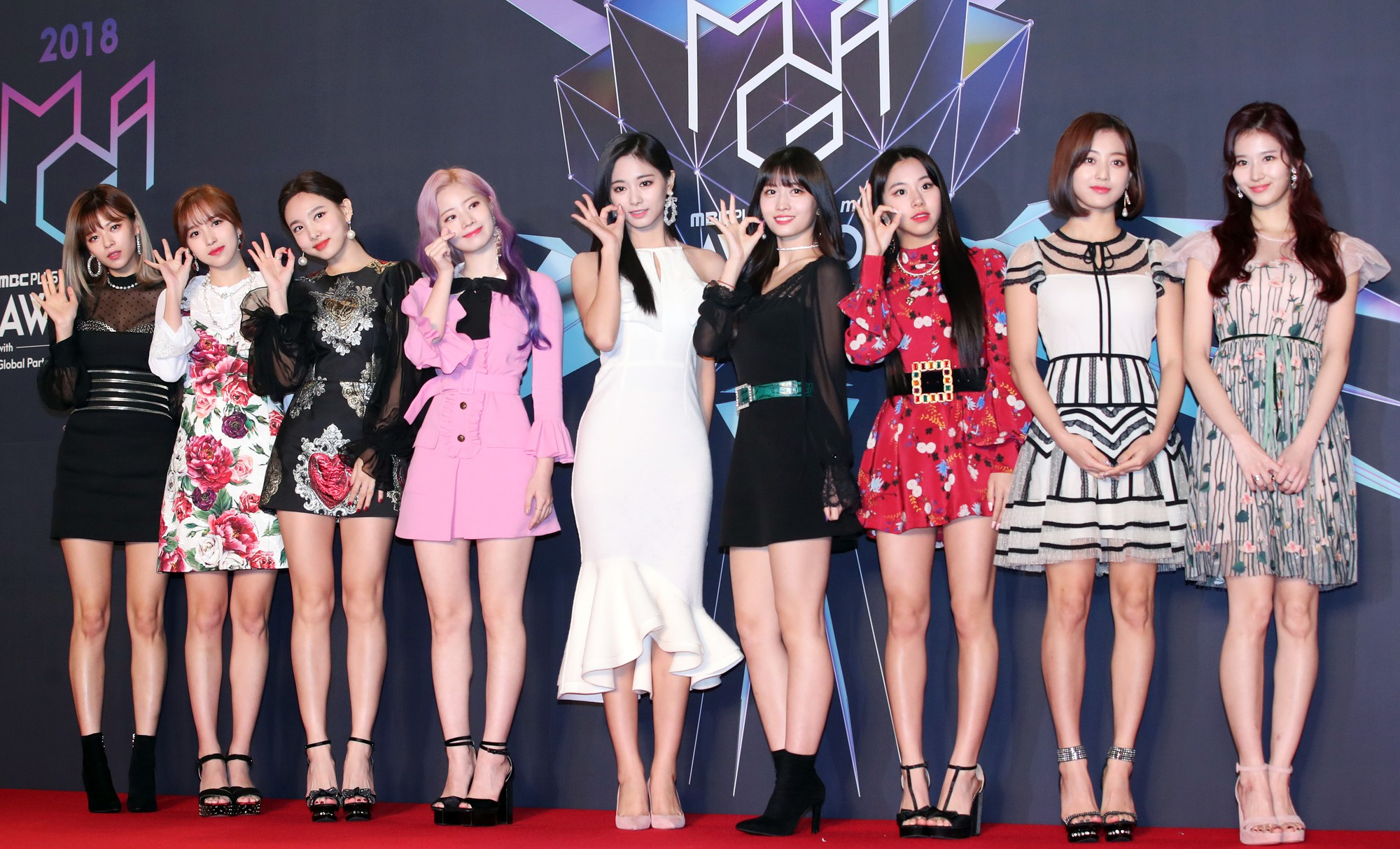 Image result for nayeon twice mga 2018 red carpet