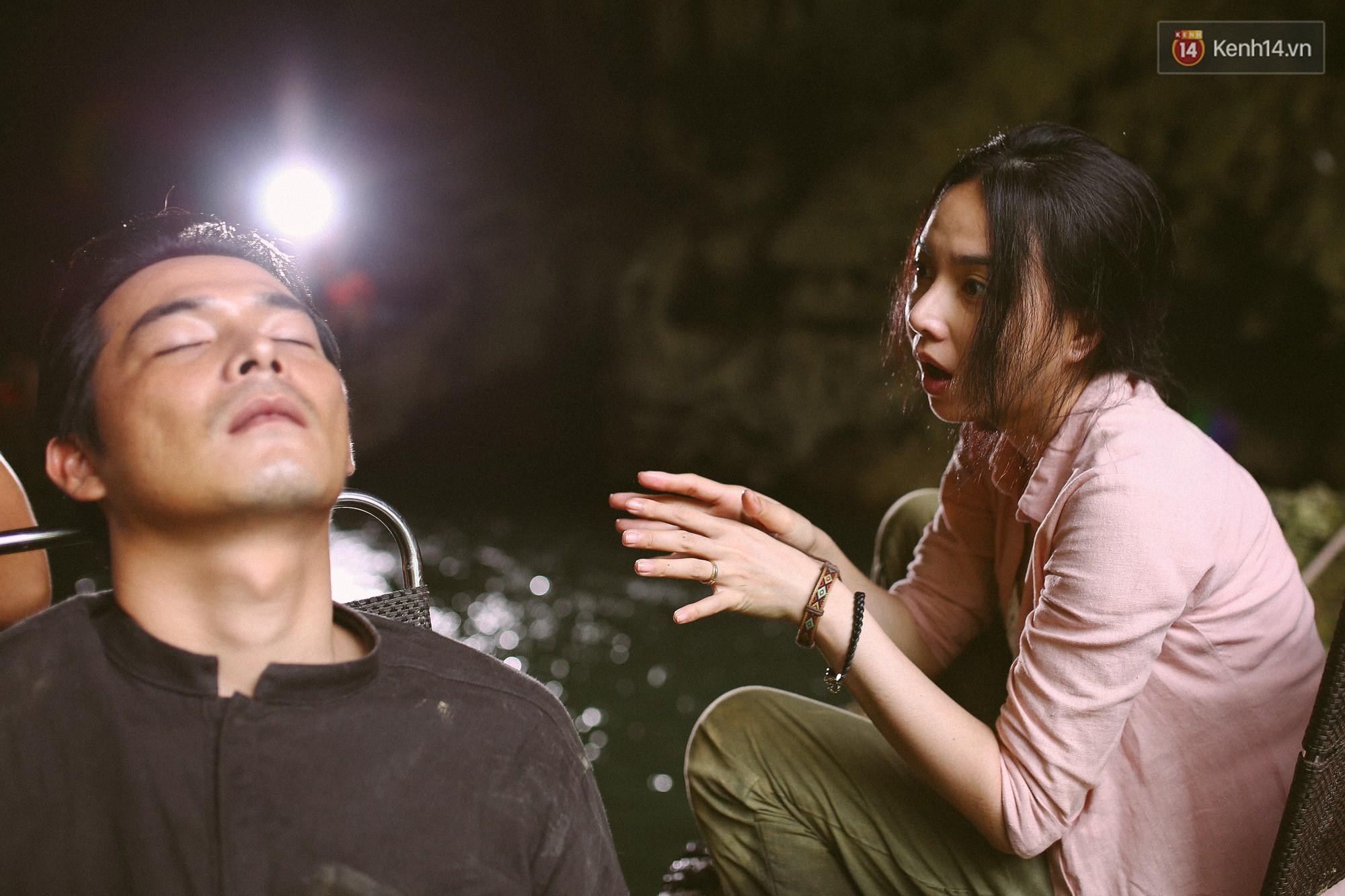 Cười ngất với 101 kiểu tạo dáng siêu lầy của Quách Ngọc Ngoan ở hậu trường Người Bất Tử - Ảnh 1.