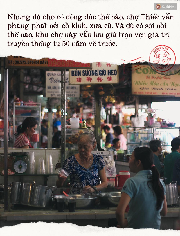 Buổi sáng tại khu chợ lâu năm ở Sài Gòn: đẹp như một thước phim, đồ ăn ngập tràn khắp nơi - Ảnh 6.