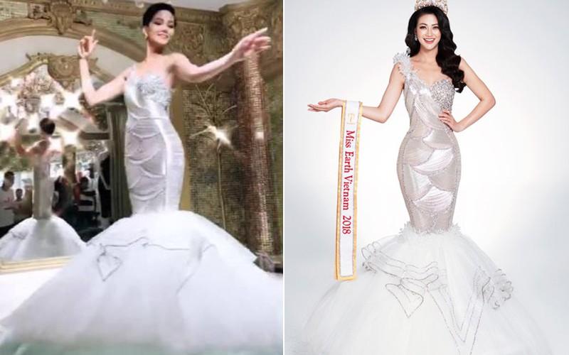 Đăng clip múa may khi thử đồ, nào ngờ HHen Niê tự đẩy mình vào cảnh đọ váy với tân HH Phương Khánh - Ảnh 3.