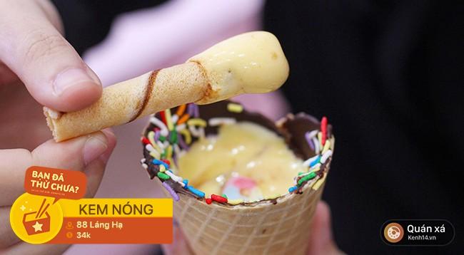 Ngày Hà Nội ẩm ương đổi gió, rủ nhau đi ăn loạt món kem dưới đây cho hợp thời tiết nào - Ảnh 2.