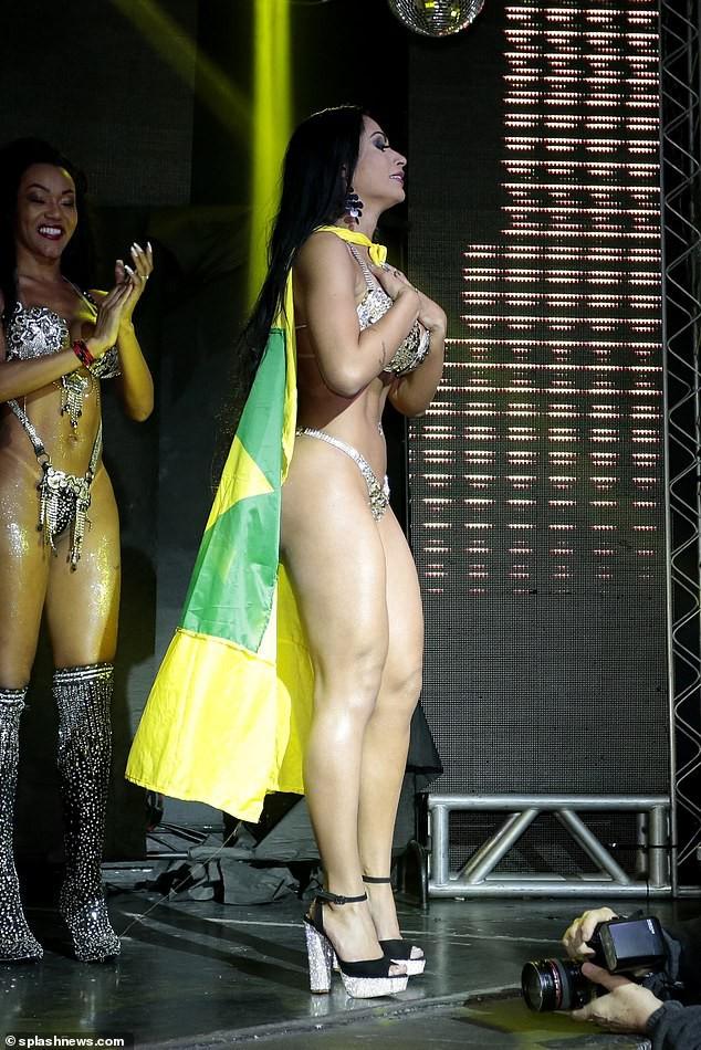 Thí sinh thi Hoa hậu Mông đẹp Brazil cướp giải của người thắng cuộc ở đêm chung kết - Ảnh 7.