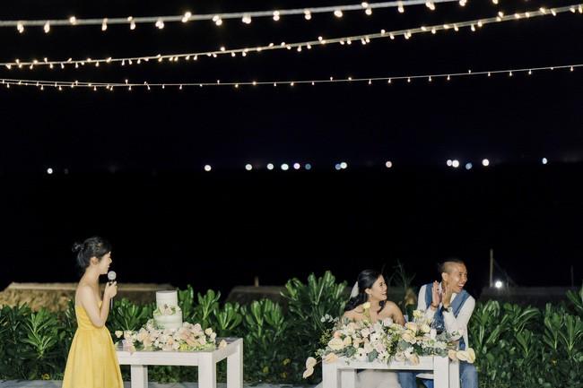 Bí mật của chiếc váy cưới và khoảnh khắc first look hạnh phúc ở đám cưới chất phát ngất do cô dâu tự tay trồng - Ảnh 12.