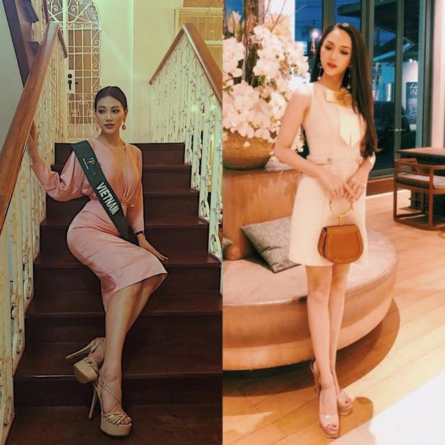 Đăng quang Hoa hậu tại 2 cuộc thi nhan sắc Quốc tế, style Phương Khánh và Hương Giang có khá nhiều điểm chung thú vị - Ảnh 5.