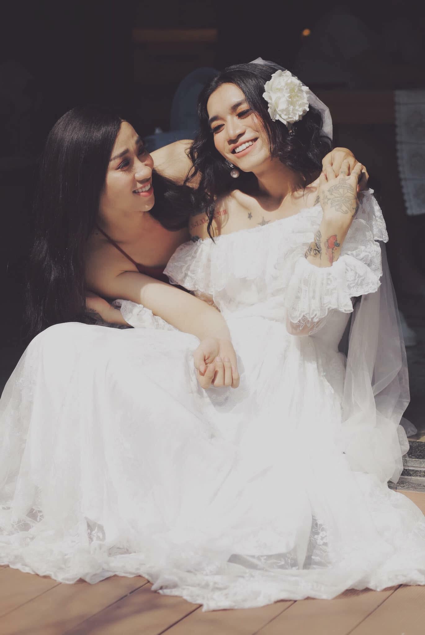 BB Trần lại làm con gái phải ghen tị: make-up sương sương, mặc váy cưới xinh đẹp hết phần người khác! - Ảnh 7.