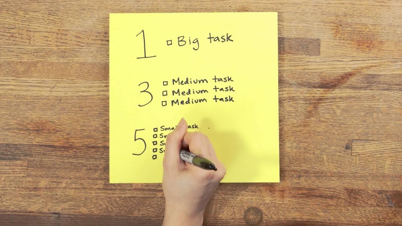 Bí kíp 1-3-5 ai cũng nên học để lên được một to-do list thật hiệu quả - Ảnh 3.