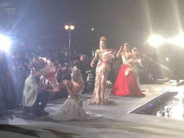 Miss Earth: Candidates degraded, organized pool, scandal - Photo 15.