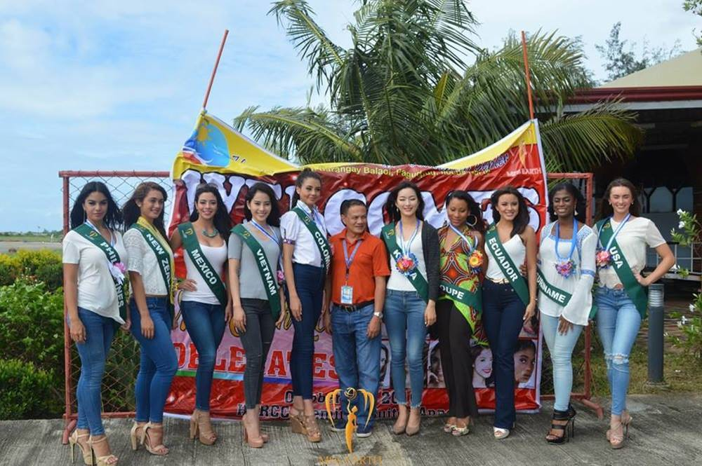 Miss Earth: Candidates degraded, organized pool, scandal - Photo 17.
