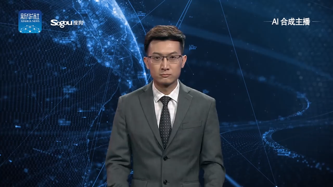 [Vietsub] Trung Quốc công bố phát thanh viên ảo chạy bằng trí tuệ nhân tạo đầu tiên trên thế giới, nhìn không khác gì người thật - Ảnh 1.